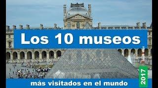 Los 10 museos más visitados en el mundo en 2017