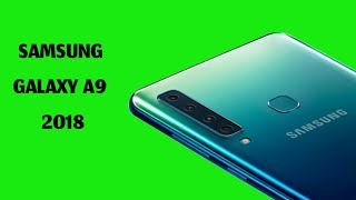 Samsung Galaxy A9 - 2018 | amazing phone, Unboxing and best 4 rear cameras phone!!