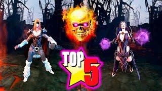 Dota 2 - Top 5 Unofficial † DEATH † sets!