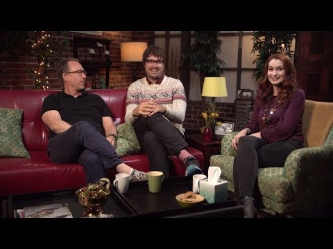MST3K Turkey Day 2017  Jonah Ray, Joel Hodgson, & Felicia Day Discuss Stranger Things & Tex Mex