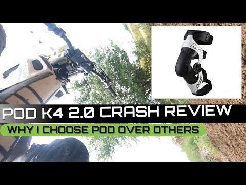 POD 2 0 K4 Knee Brace Review | Crash Tested