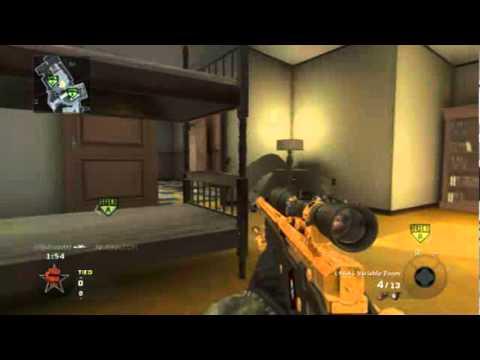 KillcountO0 Black Ops 1v3 sniper clutch