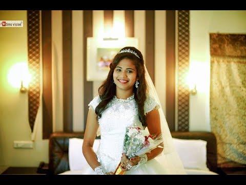 Best Telugu Christian Wedding Highlights Of Manoj + Mounika