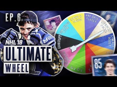 ULTIMATE WHEEL - S2E6 - NHL 18 Hockey Ultimate Team