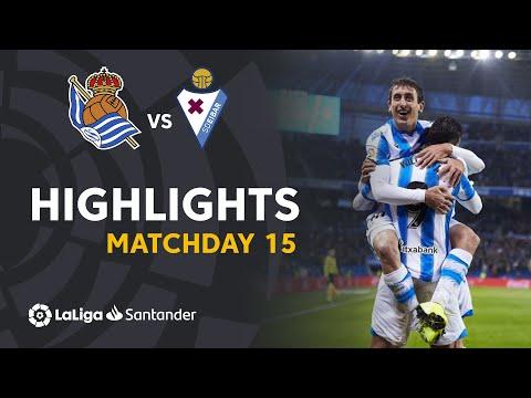 Highlights Real Sociedad Vs SD Eibar (4-1)
