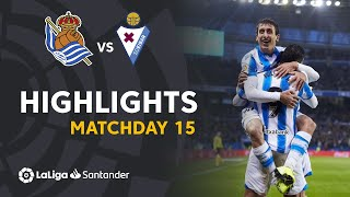 Highlights Real Sociedad vs SD Eibar (4-1)