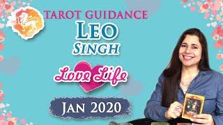 Leo Love Reading  2020 January  RelationshipReading  Tarot nHindi  Jyotish