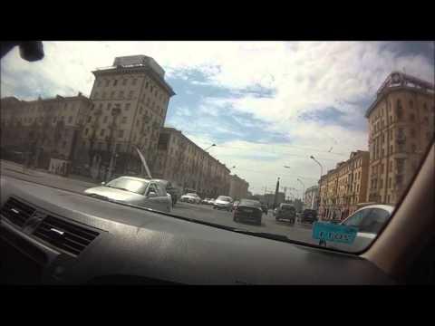 Минск проспект Независимости площадь Победы