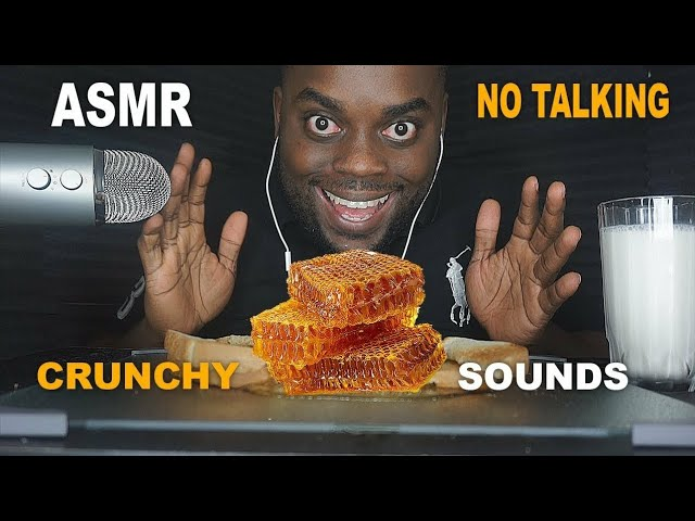 My First Asmr Video How Was It Eating Honeycomb No Talking