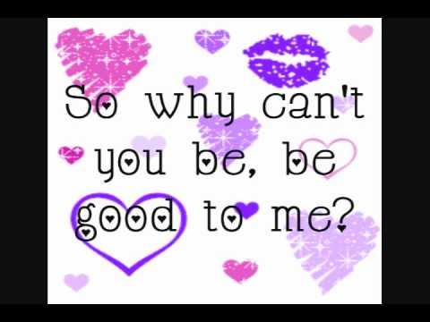 Be Good To Me (Ashley Tisdale)~Lyrics~HD/HQ