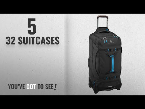 Top 10 32 Suitcases [2018]: Eagle Creek Gear Warrior 32, Black, One Size