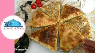 Üçgen Yufkadan Üçken Börek Yapımı -Gözleme tadında ▪Masmavi3mutfakta▪