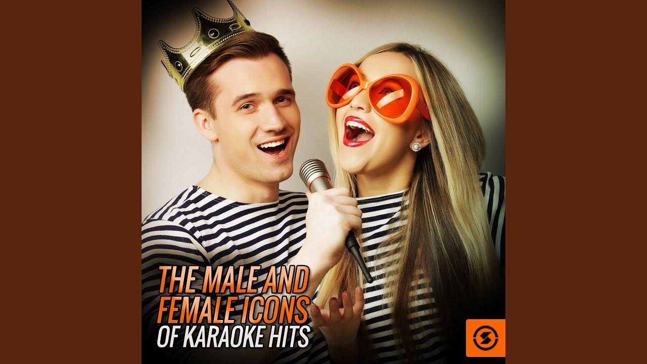 un hombre buscando una mujer karaoke