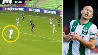 РОББЕН вернулся в футбол и ВЛЕПИЛ ГЕНИАЛЬНЫЙ ГОЛ за Гронинген