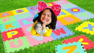 ABC Song English Alphabet for kids // Alphabet song from Alice and TOYS