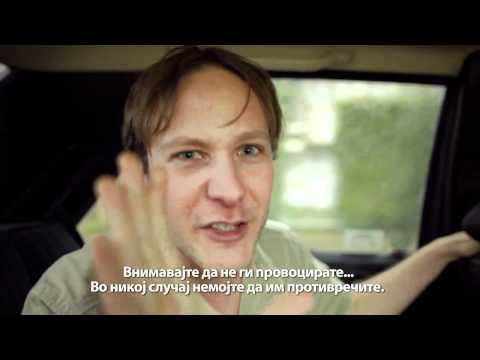 Funny : Tourist in Macedonian Cab