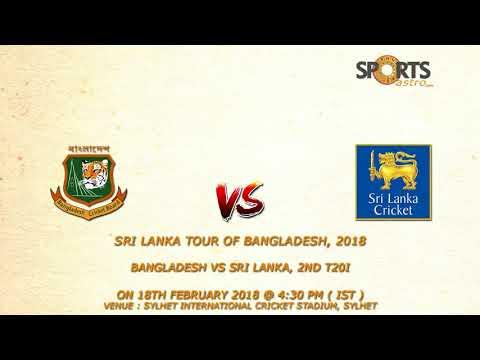 Sri Lanka tour of Bangladesh, 2018 Bangladesh vs Sri Lanka, 2nd T20I Prediction
