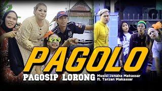 Musisi Jenaka Makassar ft. Tarzan Makassar - PagoLo'   PAGOSIP LORONG ( Official Music Video )