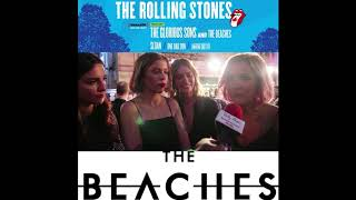 Chat w Jordan Miller of The Beaches on opening  for the Rolling Stones at Burl's Creek Park