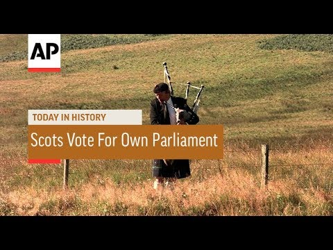 Scots Vote For Own Parliament - 1997 | Today In History | 11 Sept 17