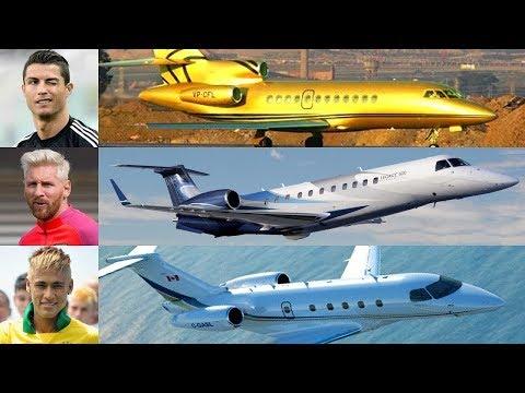 7 Jets Privados Más Caros Y Lujosos De Famosos Futbolistas