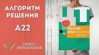 Видеоразбор ЦТ по Русскому [А22| 2015]