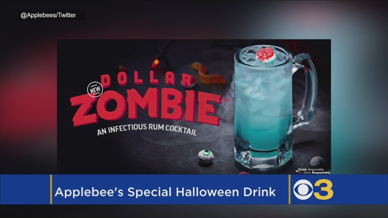 applebees spooky new dollar zombie drink unveiled ahead of halloween