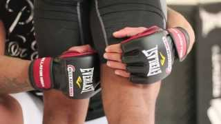 MMA Norman Paraisy double legs takedown 2/2