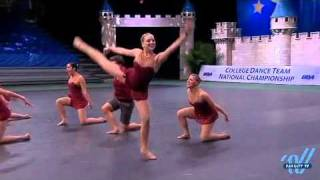 UDA College Nationals 2011: Florida State University Division IA Jazz 3rd place
