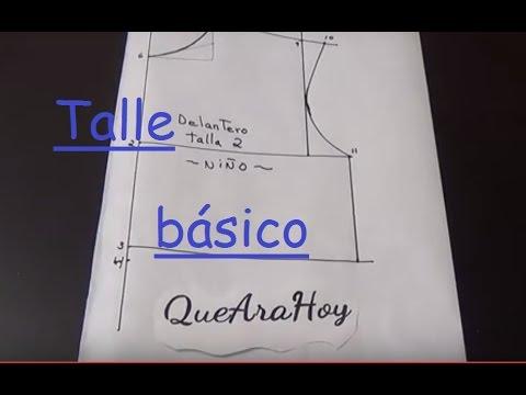 02ec85dbc Alta Costura para NIÑOS clase   2  Talle Delantero - YouTube