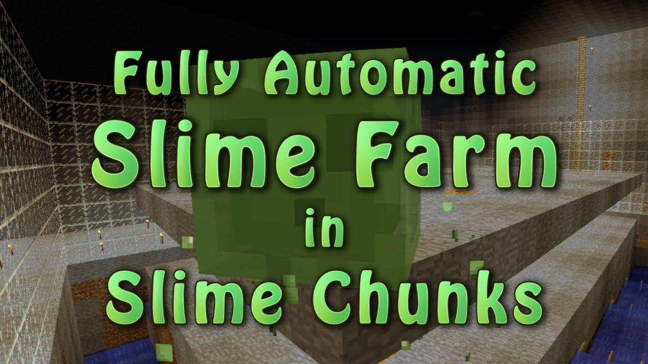Minecraft fully automatic slime farm in slime chunks 23 youtube minecraft fully automatic slime farm in slime chunks 23 ccuart Choice Image