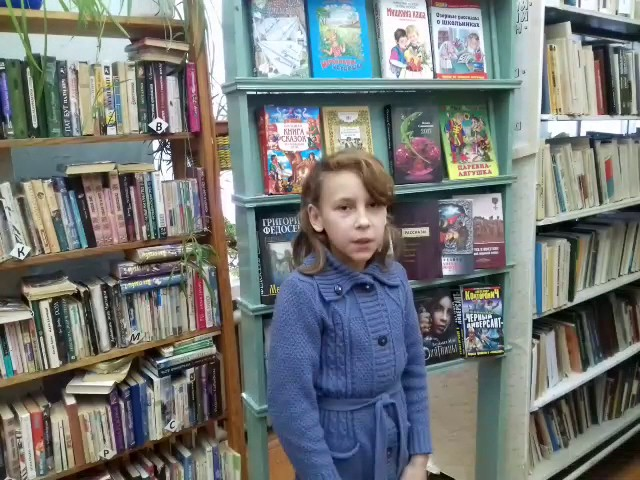 Изображение предпросмотра прочтения – АленаМорозкова читает произведение «В школу» М.Я.Бородицкой