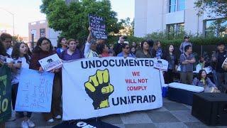 Trump Immigration Policy Protest in California