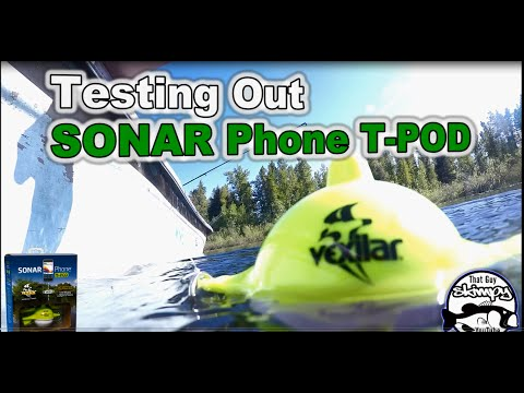 Testing Out SONAR Phone T POD by Vexilar