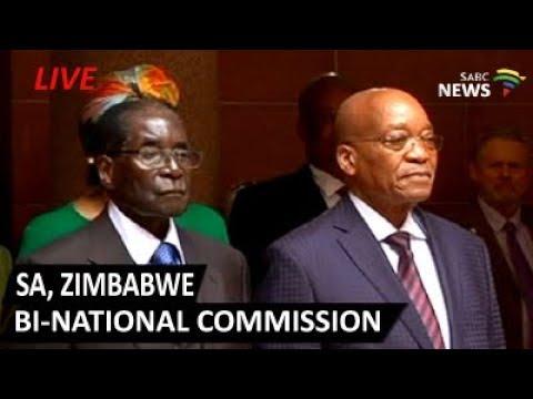 SA, Zimbabwe bi-national commission, 03 October 2017