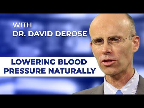 Lowering Blood Pressure Naturally with Dr. David DeRose