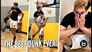 The BEST DUNK EVER!!! HANDS DOWN!! 360 BEHIND THE BACK BETWEEN THE LEGS!! WTFF ISAIAH RIVERA!! Video