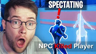 I Spectated a Fortnite Game and THIS Happened!