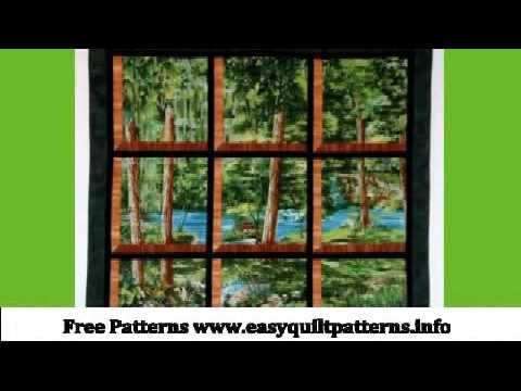 Quilting Pattern Log Cabin Block Double Attic Window Quilt