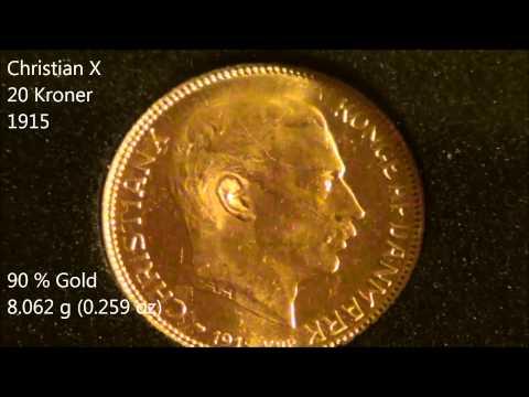 My Danish Gold Coins