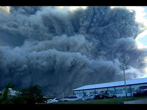 Soufriere Hills Volcano Eruption - January 8, 2010