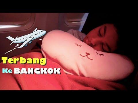 Serunya Terbang Ke Bangkok Naik Garuda Indonesia Airlines - Nayfa Ngapain Aja Di Pesawat???