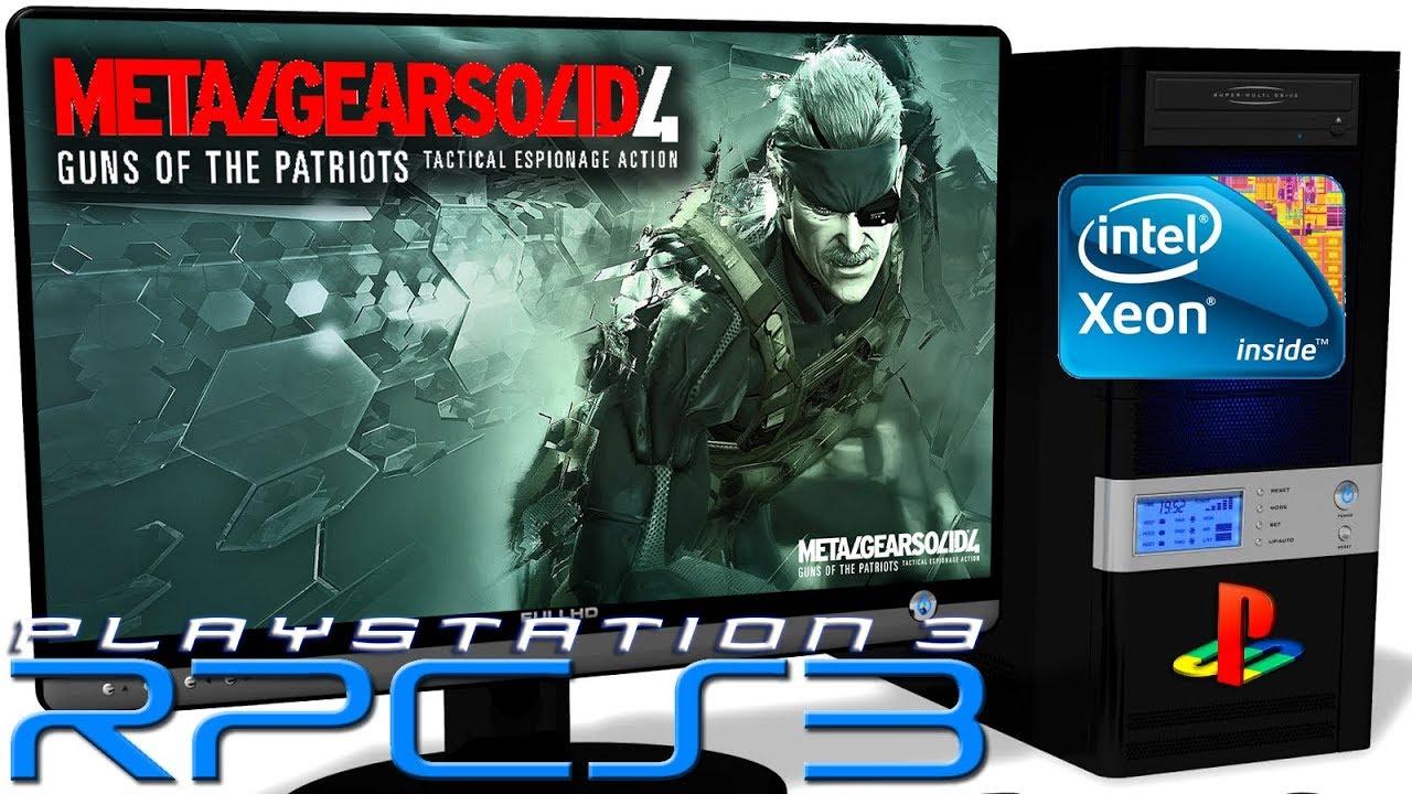 RPCS3 0 0 6 [PS3 Emulator] - Metal Gear Solid 4: Guns of the Patriots  [Ingame] Vulkan #2