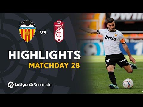 Valencia Granada Goals And Highlights