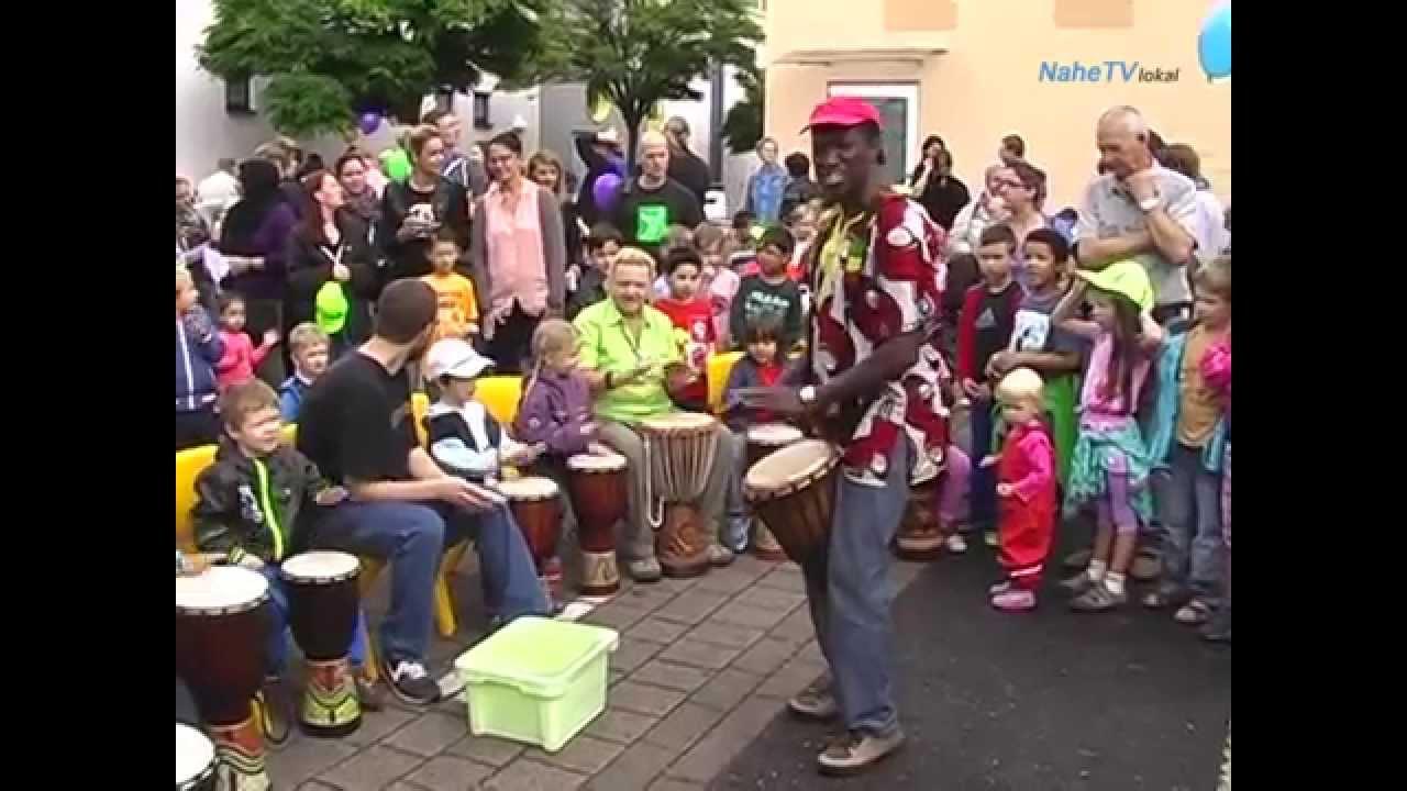 Weltkindertag 2014 in Bad Kreuznach Süd-Ost - YouTube