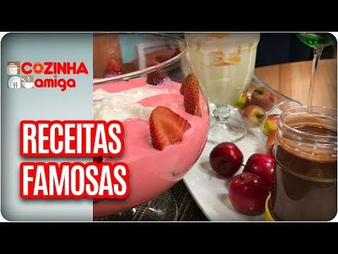 Creme De Avelã, Leite Condensado E Petit Suisse - Dalva Zanforlin | Cozinha Amiga (02/11/17)