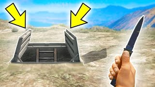 A SECRET BUNKER IN GTA 5!! (Hidden Bunker - GTA 5 Mods)