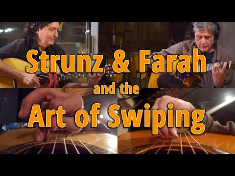 Strunz & Farah and the Art of Swiping