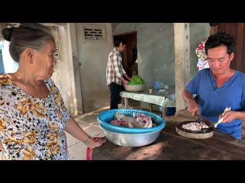 Vịt Xiêm Nấu Chao / Nhà Xong Đãi Thợ Cho Em Tèo - TVQT.381