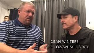Dave Stevens talks with Actor Dean Winters